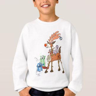 Stick reindeer sweatshirt
