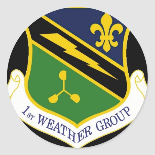 Sticker 1st Weather Group patch