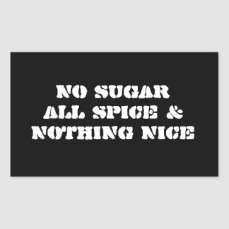 Sticker 4-Pack: No Sugar