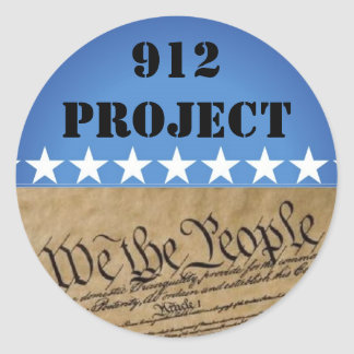 Sticker-912 Project Beck Round Sticker