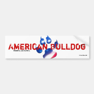 Sticker American Bulldog