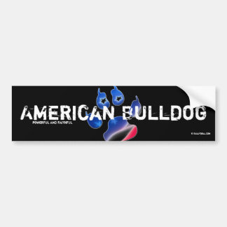 Sticker American Bulldog Bumper Sticker