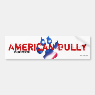 Sticker American Bully Bumper Sticker