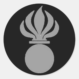 Sticker armored infantryman bomb (grey)