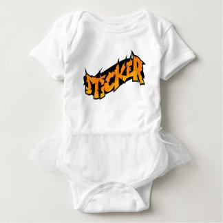 Sticker Baby Bodysuit