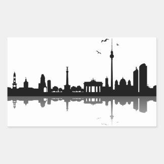 Sticker Berlin skyline