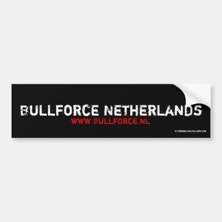 Sticker Bullforce Bumper Sticker