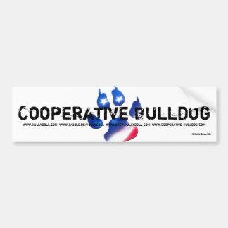 Sticker Bullydoll & Cooperative Bulldog Bumper Sticker