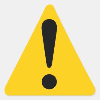 Sticker Caution Sticker Exclamation Equipment Work
