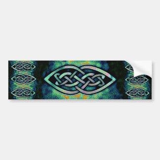 Sticker, celtic knot, Celtic knot, mystic Bumper Sticker
