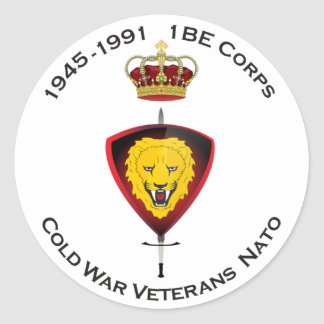 Sticker Cold War Veterans NATO 1BE Corps