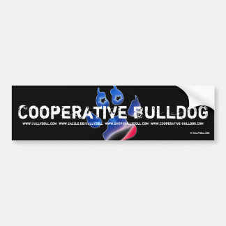 Sticker Cooperative Bulldog Bumper Stickers