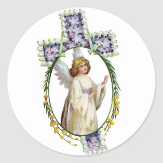 Sticker: Easter Morn Classic Round Sticker