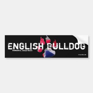 Sticker English Bulldog Bumper Sticker