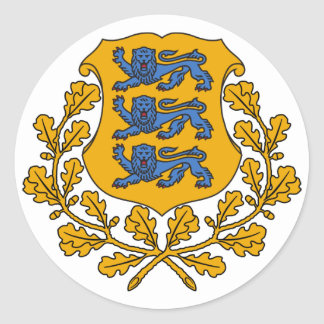 Sticker - Estonian Crest/Eesti Vapp