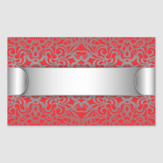 Sticker Floral abstract background