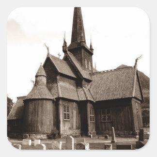 Sticker Genealogy Gothic Church Grave Yard Stones