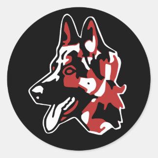 sticker German Shepherd