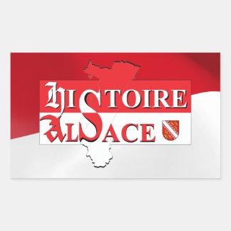 Sticker History Alsace - Elsàss Gschicht