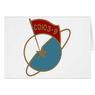 Sticker ISS Soyuz TM-9 Card