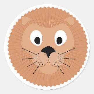 Sticker lion.