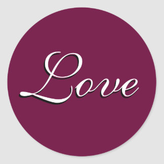 "Sticker ""Love"" Custom"