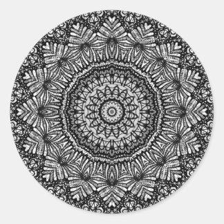 Sticker Mandala Mehndi Style G444