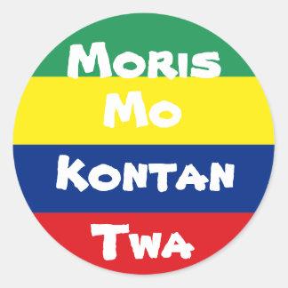 sticker Mauritius