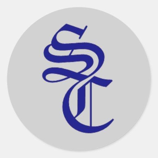 STICKER navy logo