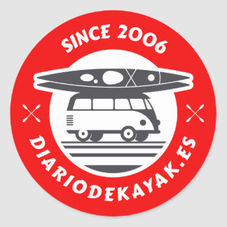 Sticker of the kayak newspaper logo