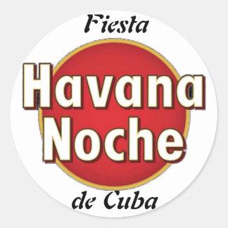 "Sticker ""Party of Cuba """