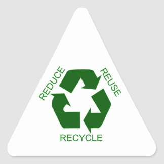 Sticker - Reduce Reuse, Recycle