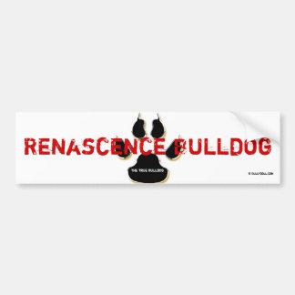 Sticker Renascence Bulldog Bumper Sticker