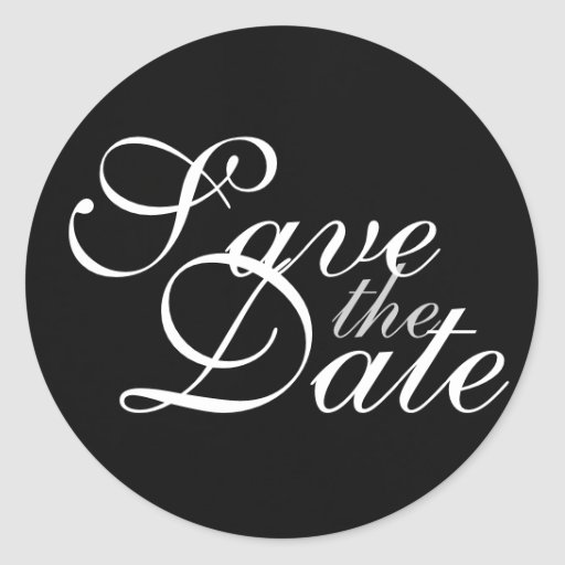 Sticker - Save the Date