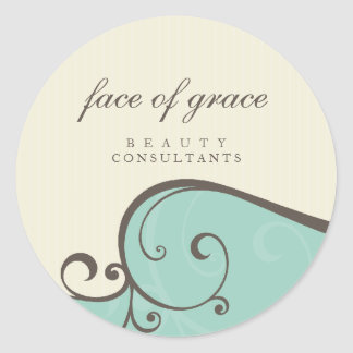 STICKER SEAL :: elegantly delicate 5