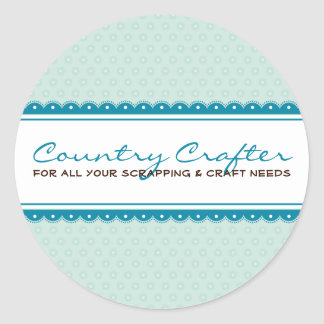 STICKER SEAL :: pretty crafty 5