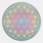 "Sticker Sticker ~Healing~Energy ""Flower OF Life """