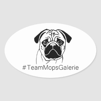 Sticker #TeamMopsGalerie