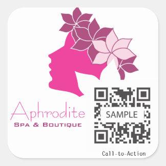 Sticker Template Aphrodite Spa & Boutique