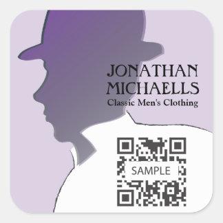 Sticker Template Retail Men's Clothing