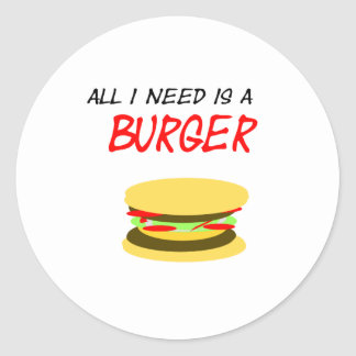 Sticker universe I need is A Burger
