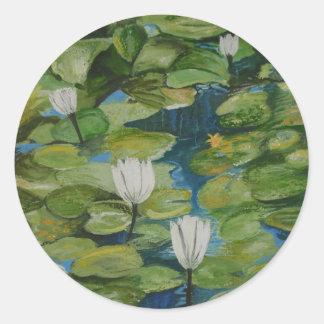 Sticker - Water Lilies at Hopeland Gardens