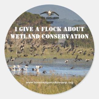 Sticker Wetland Conservation