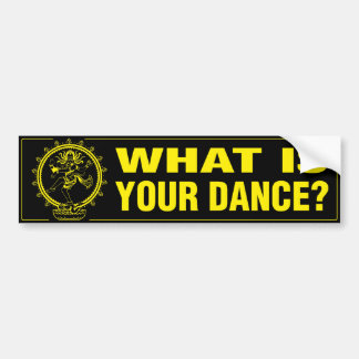 Sticker - What Is Your Dance? (B&Y)