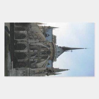 Sticker with Notre Dame de Paris