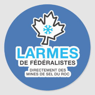 Sticker x20 Tears of Quebec Federalists