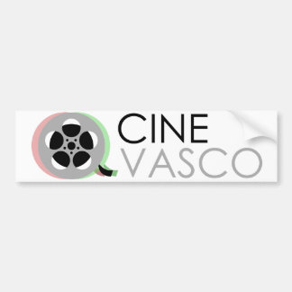 Sticker XXL: Vasco cinema Bumper Sticker