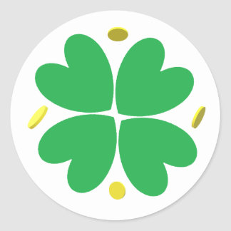 Stickers - 4-leaf Clover