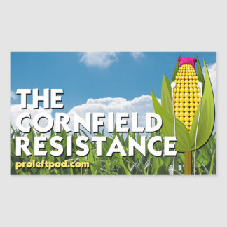 Stickers (4/pg) - The Cornfield Resistance