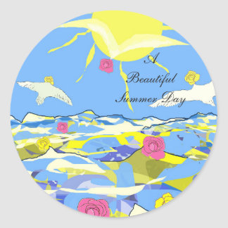 """Stickers """"A Beautiful Summer Day"""""""